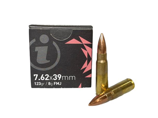 Igman 7.62x39 mm 123 gr/ 8g FMJ 15 Rd Box UPC: 3877002037092