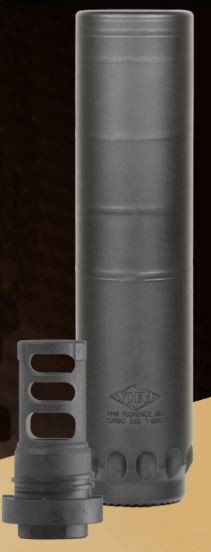Yankee Hill Machine Co Turbo Suppressor, 5 56MM, Rifle Suppressor, 13 5oz,  6 5