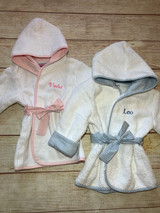 Baby Bath Robes by Wicked Stitches Gifts Make bath time fun!