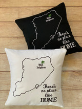 Shamrock Map Pillow