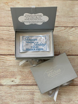 Something Blue Wedding Dress Label - Forever begins today!  By Wicked Stitches Gifts