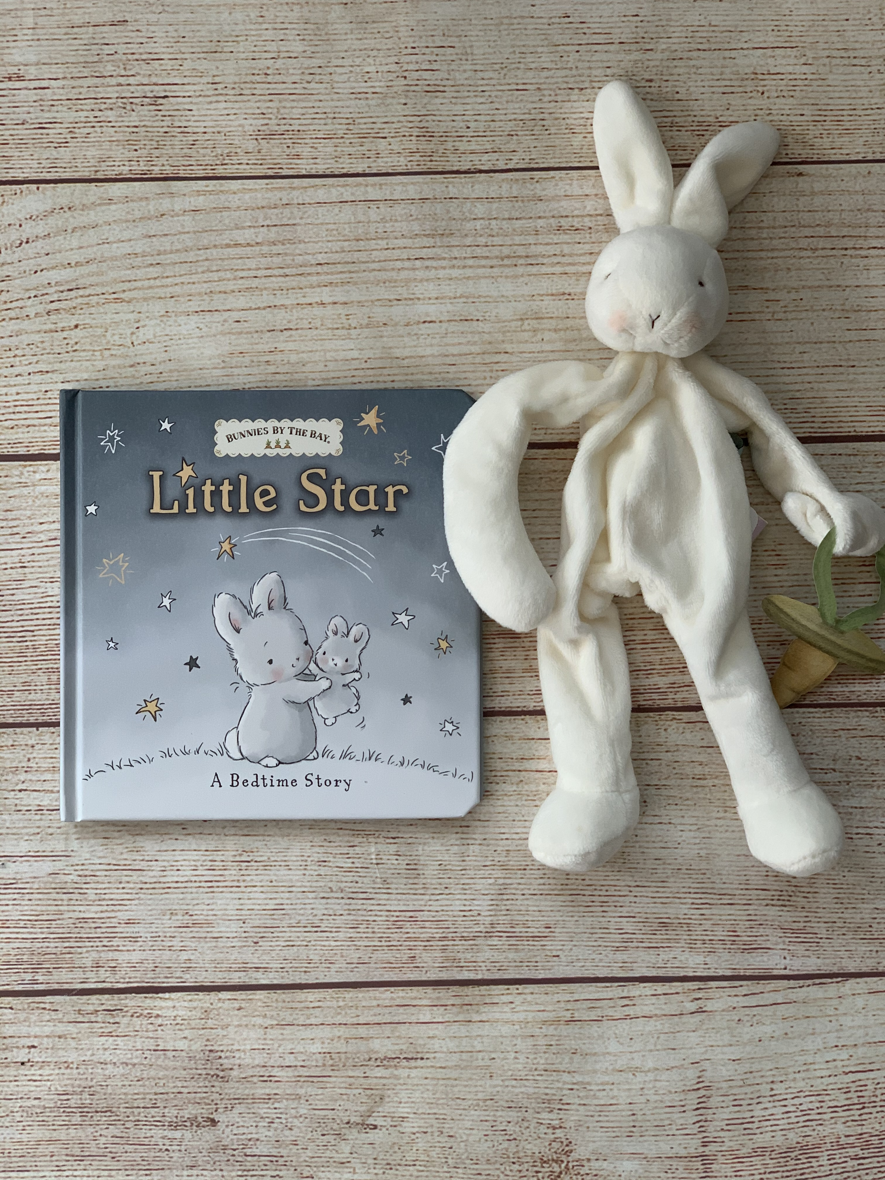 Add a Book and Buddy -Little Star.  Great addition to this pillow.  Wicked Stitches Gifts.