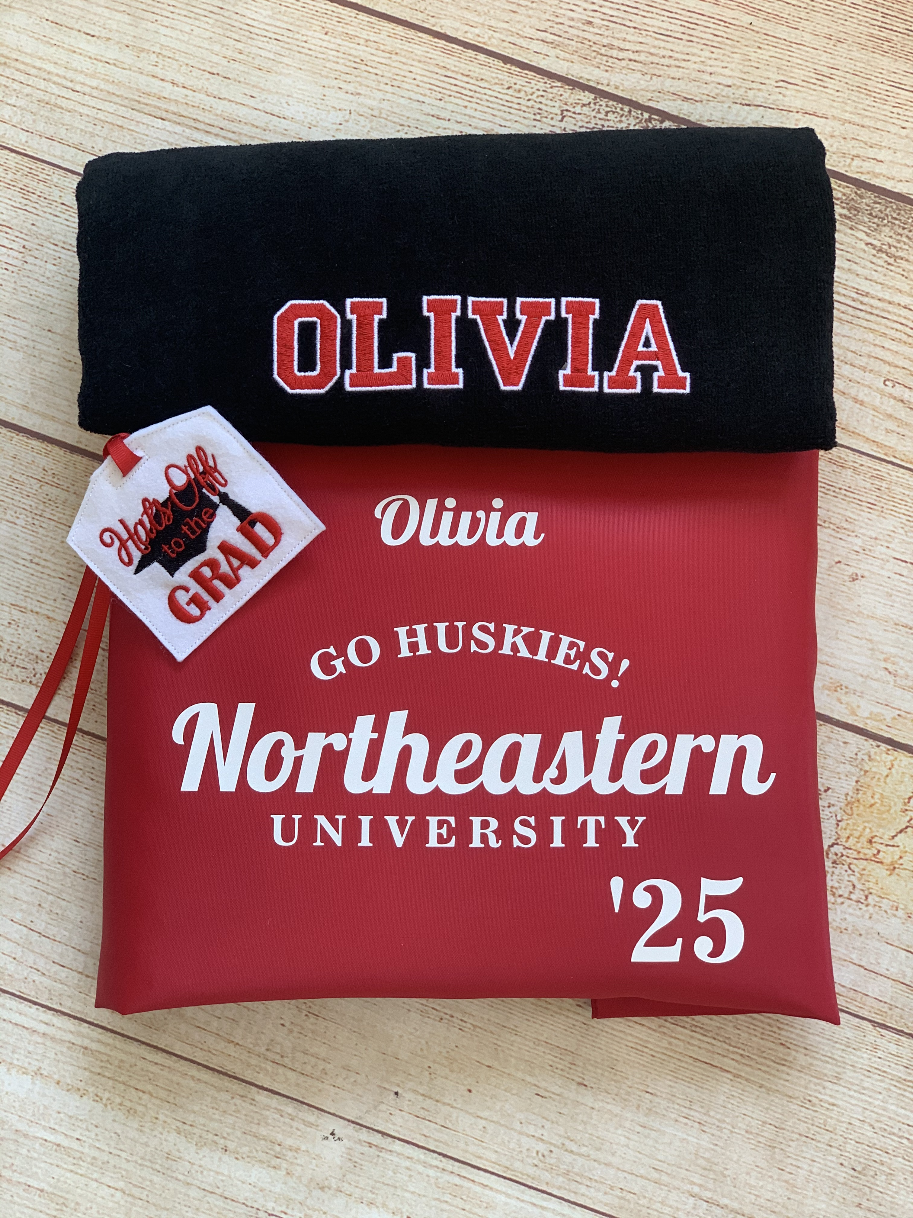 Off To College Gift by Wicked Stitches Gifts