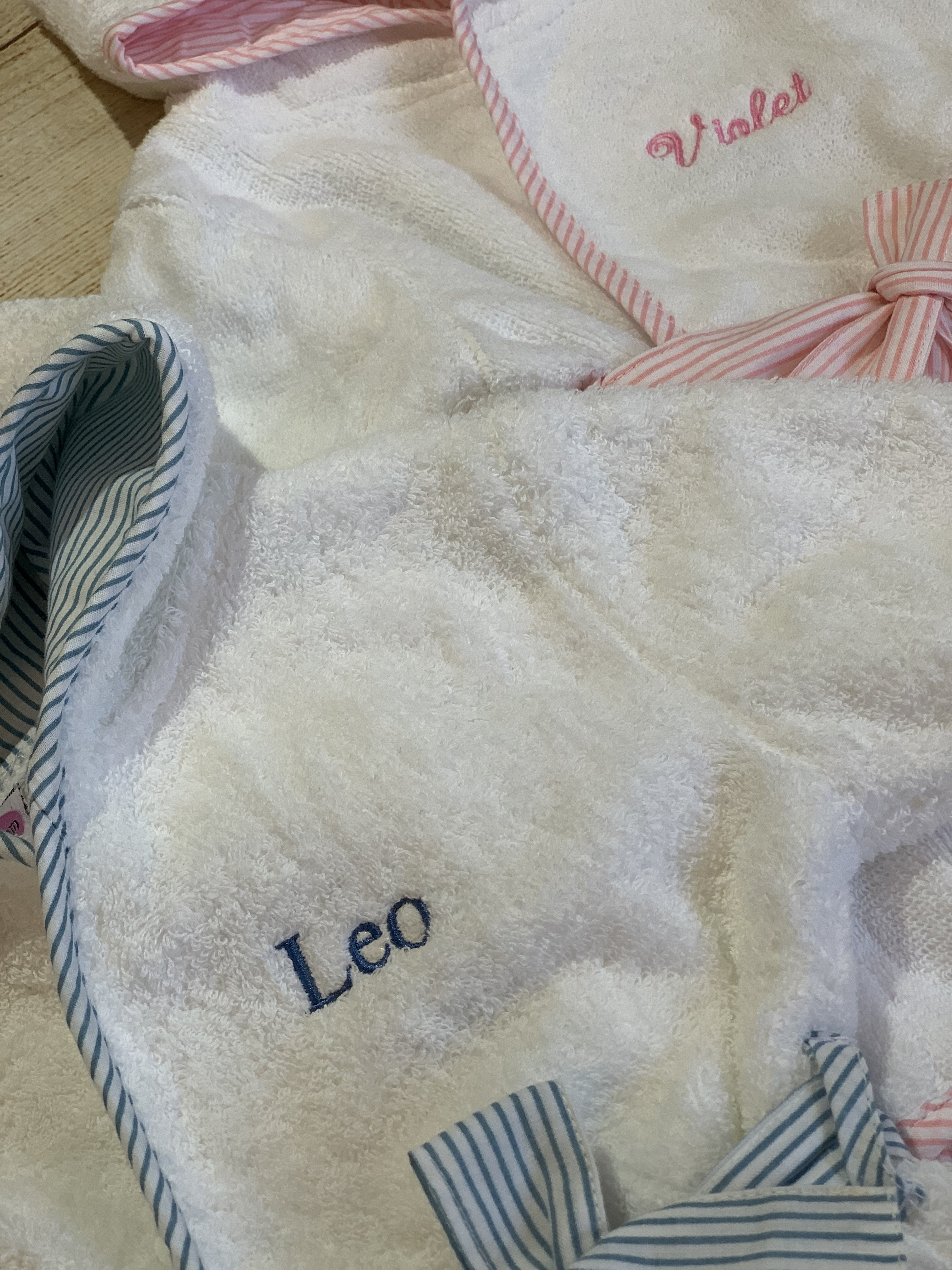 Expert monogramming by Wicked Stitches Gifts