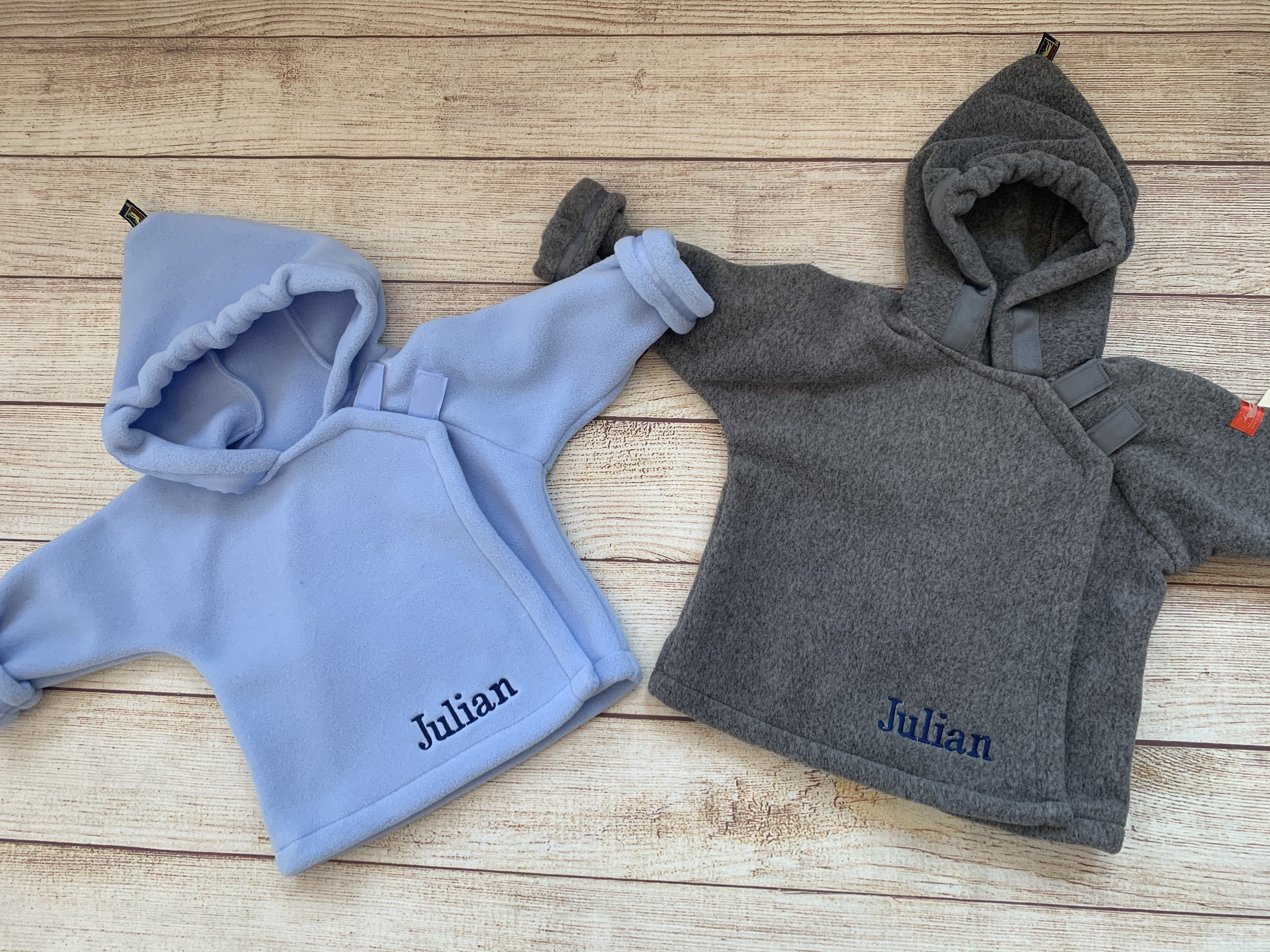 Monogrammed Widgeon Jackets by Wicked Stitches Gifts