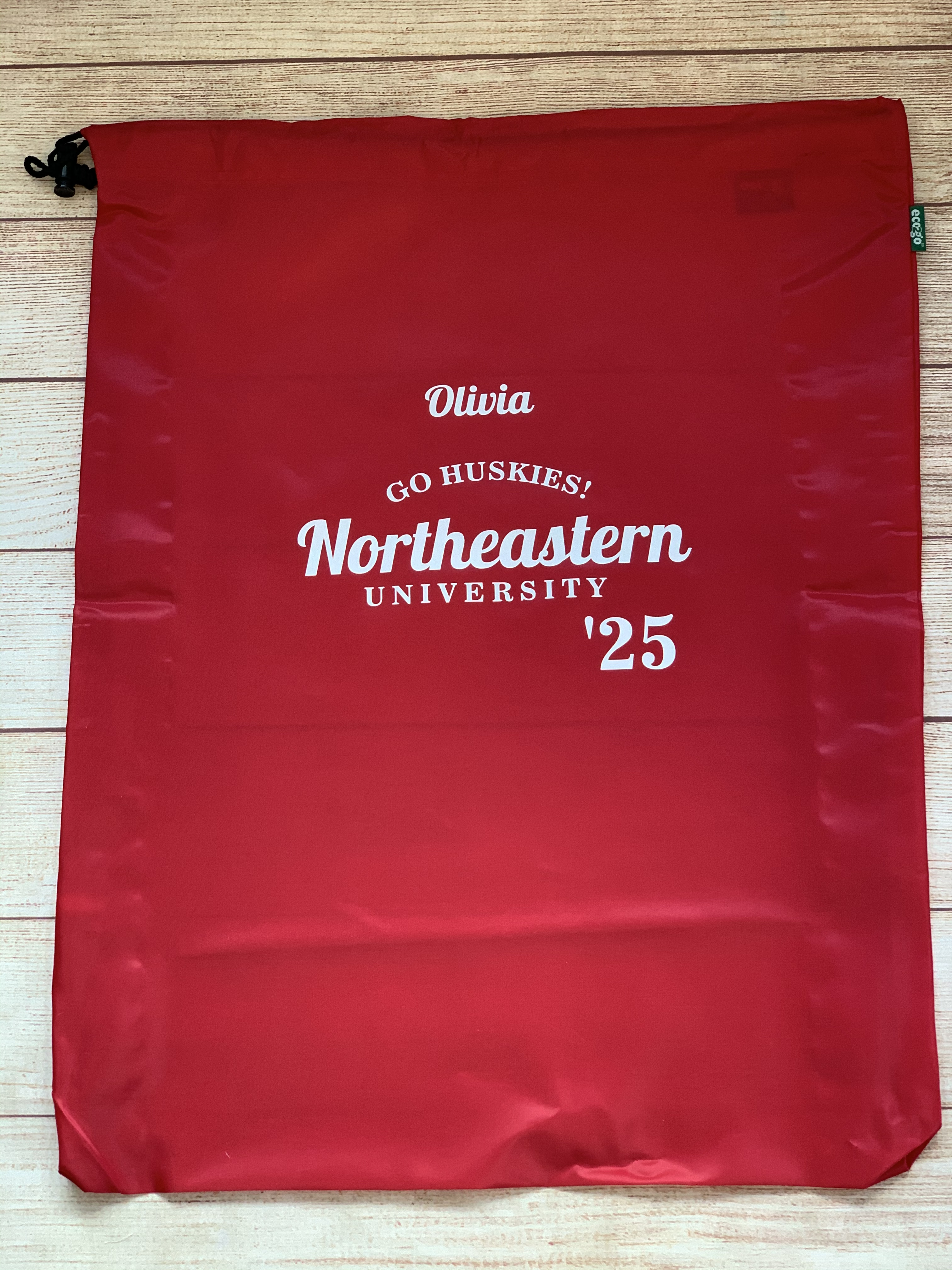 College Laundry Bag is fun, essential, big and made to last.  Wicked Stitches Gifts