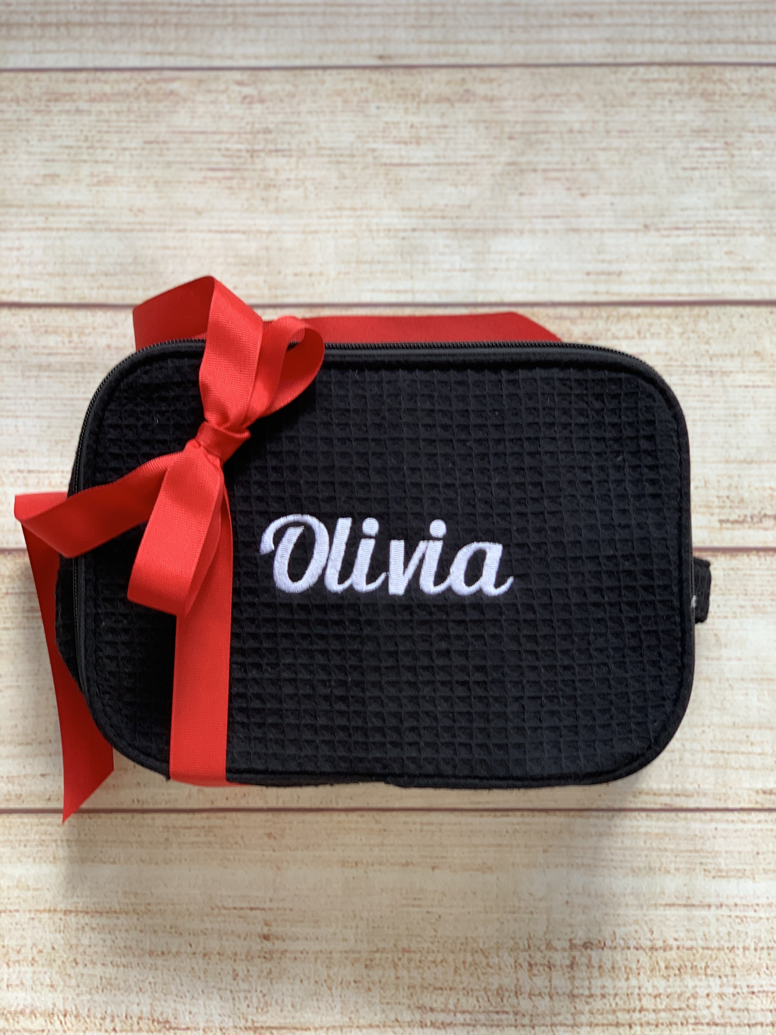 College Cosmetic Case by Wicked Stitches Gifts