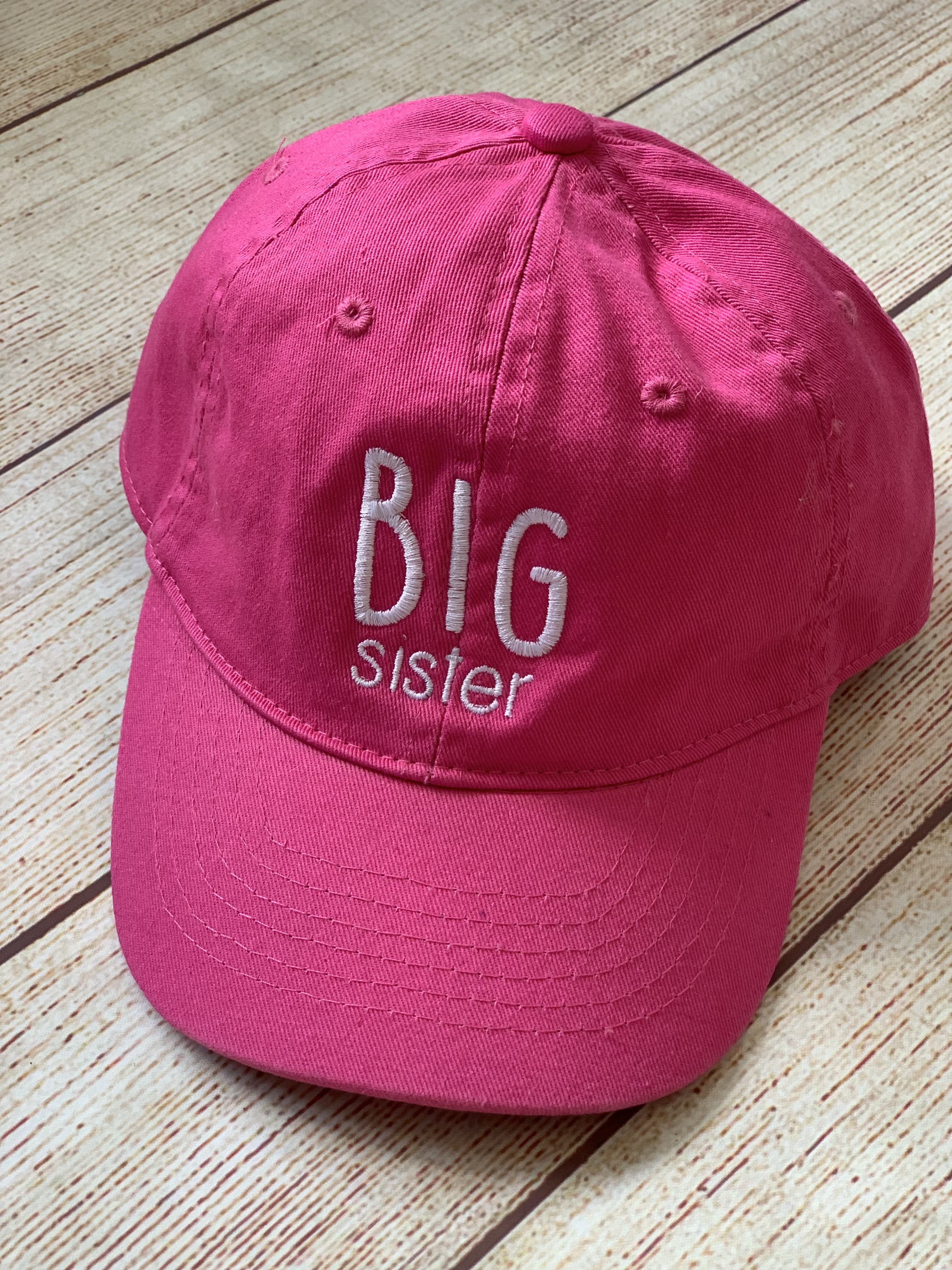 Bring a little gift for the big sister. It's adjustable - no size needed!