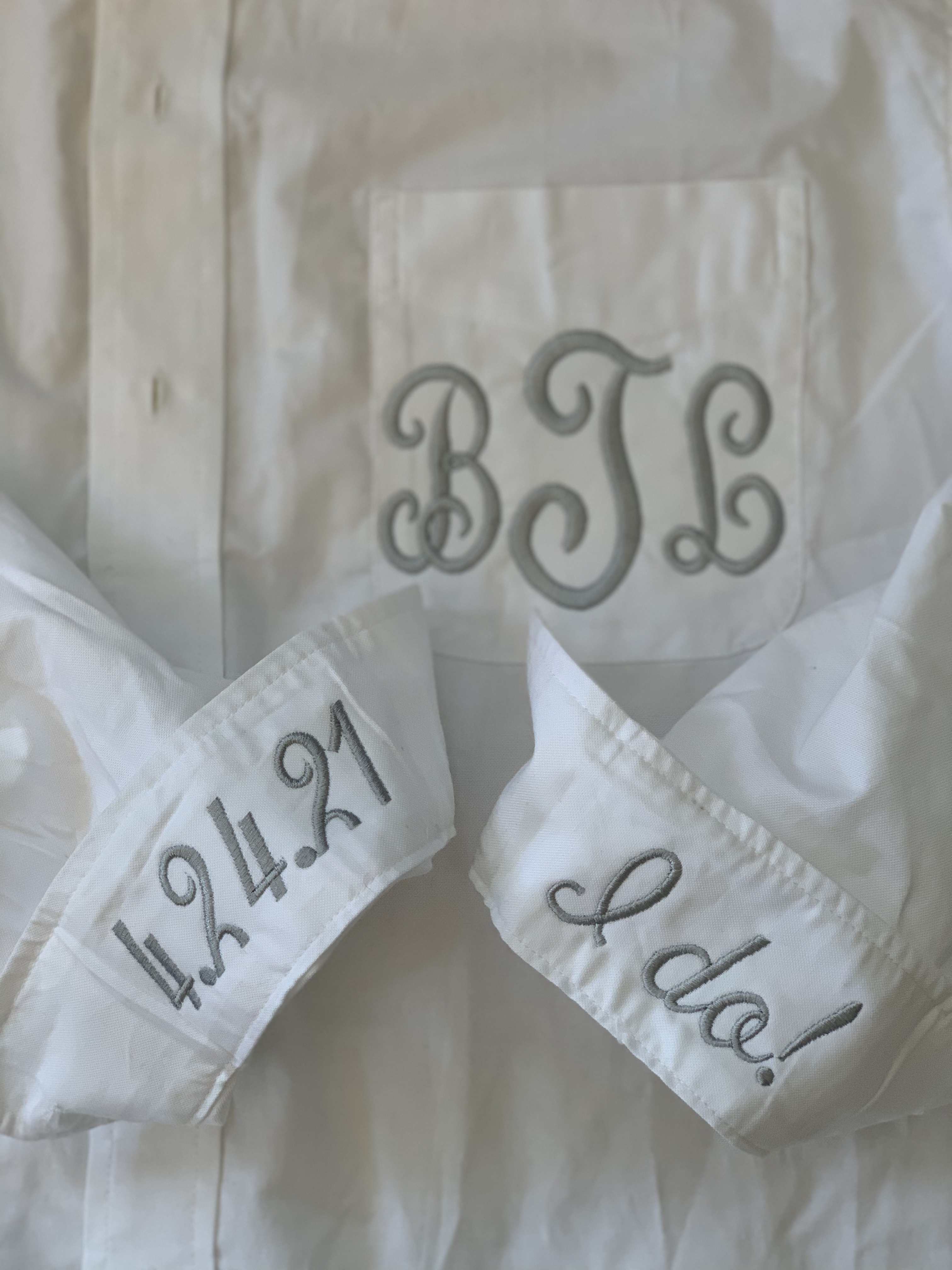 Monogram Oxford by Wicked Stitches