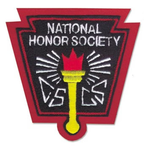 National Honor Society (NHS) with Torch