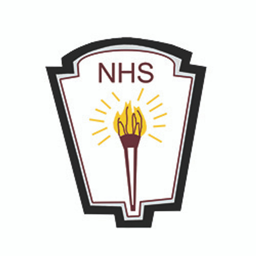 National Honor Society (NHS) Shield with Torch