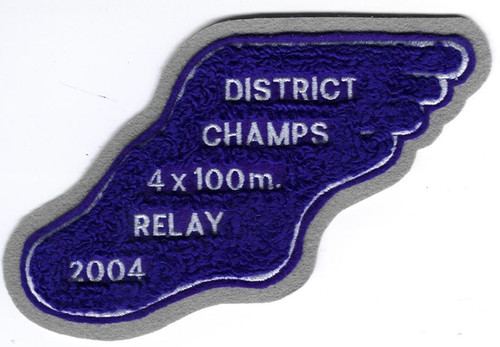Custom Lettering, up to 5 lines, for Track awards.