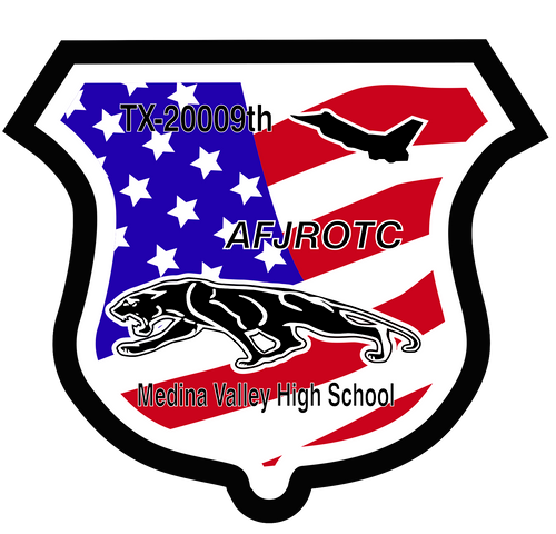 Medina Valley Air Force JROTC Shield