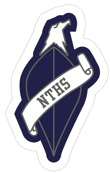 "Patch Comes in NTHS Colors 2"" x 4"" Sleeve path"