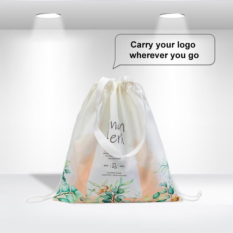 Drawstring Closure Tote Bags
