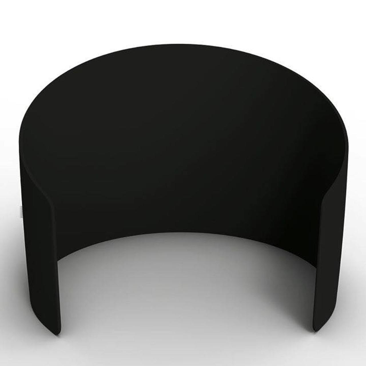 10ft Curved Enclosure (Black)
