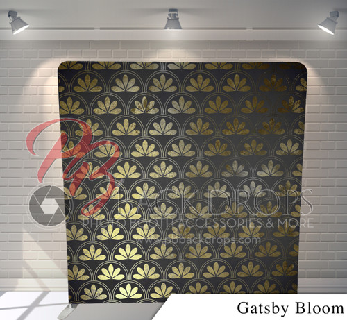 Single-sided Pillow Cover Backdrop  (Gatsby Bloom)