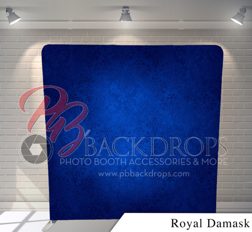 Single-sided Pillow Cover Backdrop  (Royal Damask)