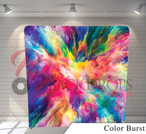 Single-sided Pillow Cover Backdrop  (Color Burst)