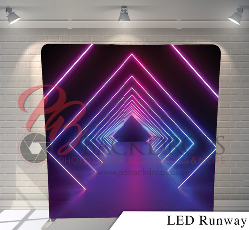 Single-sided Pillow Cover Backdrop  (LED Runway)