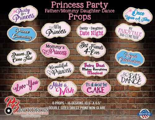 Princess Party - Father/Mommy Daughter Dance Bundle