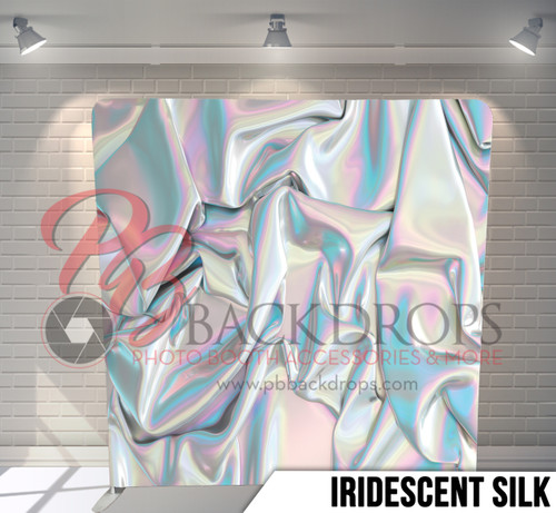 Single-sided Pillow Cover Backdrop  (Iridescent  Silk)