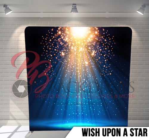 Single-sided Pillow Cover Backdrop  (Wish Upon A Star)