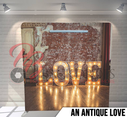 Single-sided Pillow Cover Backdrop  (An Antique Love)