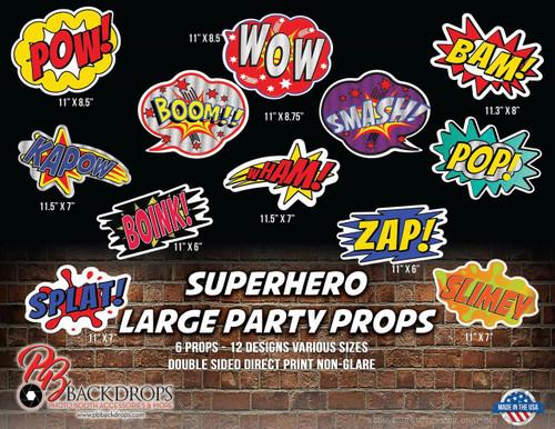 Super Hero Large Party Bundle