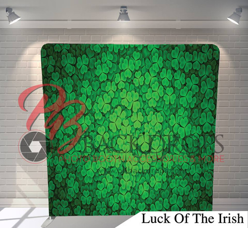 Single-sided Pillow Cover Backdrop  (Luck of the Irish)