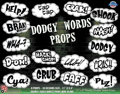 Dodgy Words Props Bundle