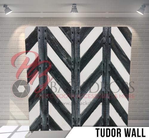 Single-sided Pillow Cover Backdrop  (Tudor Wall)