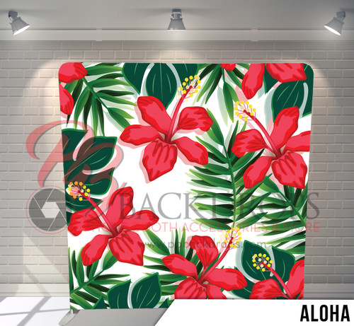 Single-sided Pillow Cover Backdrop  (Aloha)