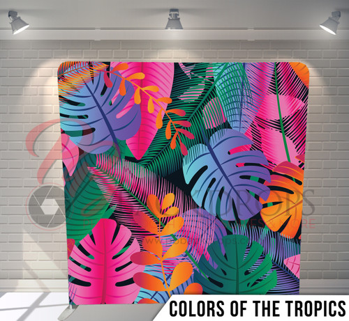 Single-sided Pillow Cover Backdrop  (Colors of the Tropics)