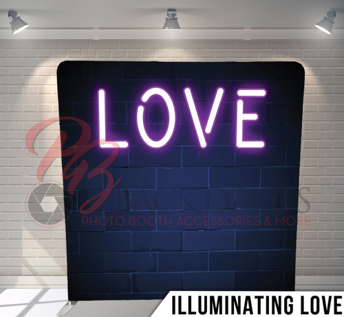 Single-sided Pillow Cover Backdrop  (Illuminating Love)