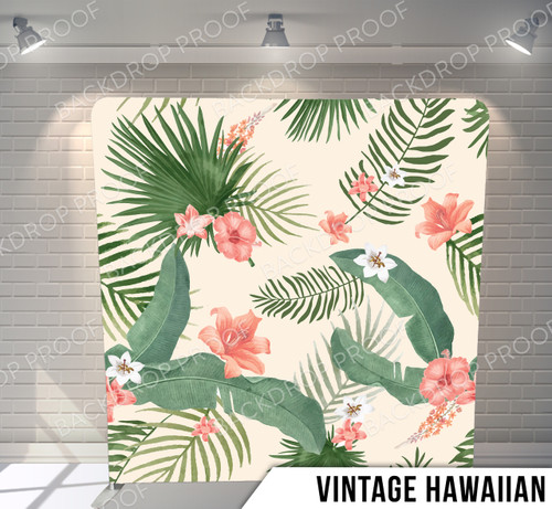 Single-sided Pillow Cover Backdrop  (Vintage Hawaiian