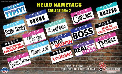 Hello Nametags Collection #2 Bundle