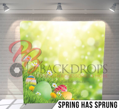 Single-sided Pillow Cover Backdrop  (Spring has Sprung)