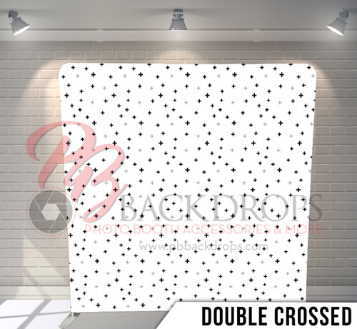 Single-sided Pillow Cover Backdrop  (Double Crossed)