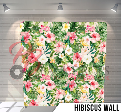 Single-sided Pillow Cover Backdrop  (Hibuscus Wall)