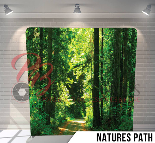 Single-sided Pillow Cover Backdrop  (Natures Path)