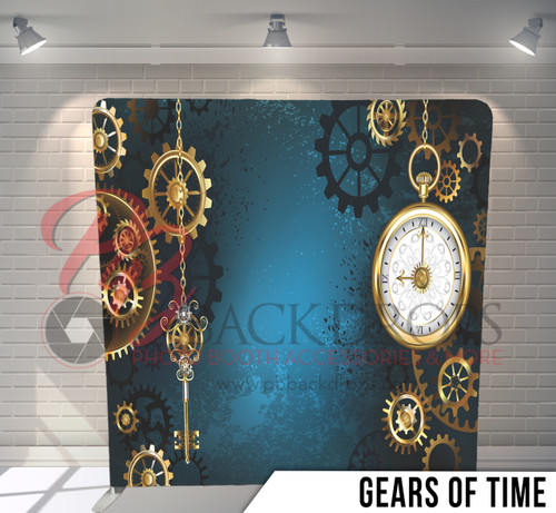 Single-sided Pillow Cover Backdrop  (Gears of Time)