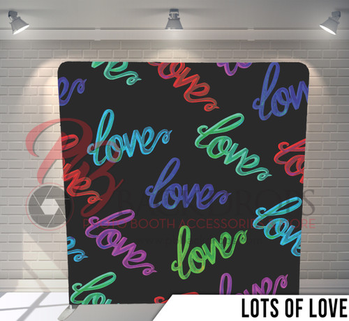 Single-sided Pillow Cover Backdrop  (Lots of Love)