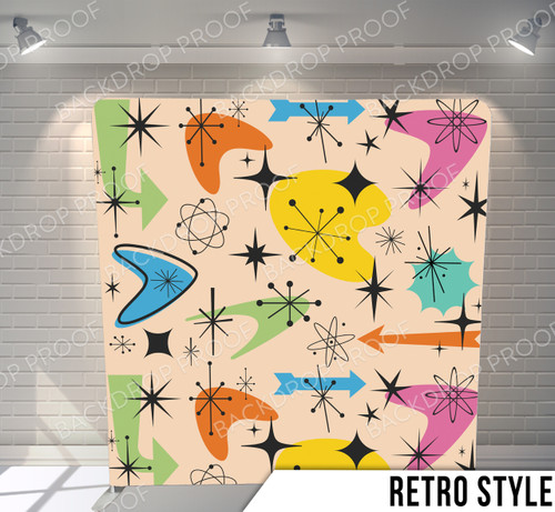 Single-sided Pillow Cover Backdrop  (Retro Style)