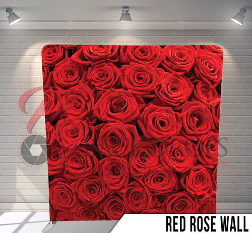 Red Rose Wall