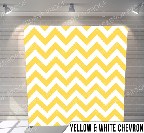 Yellow & White Chevron