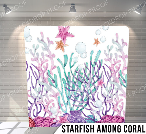 Starfish Among Coral