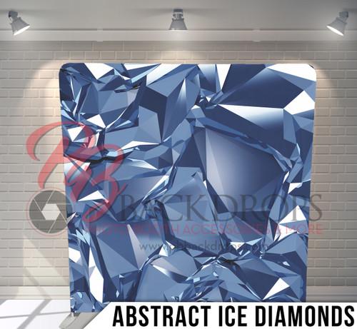 Abstract Ice Diamonds