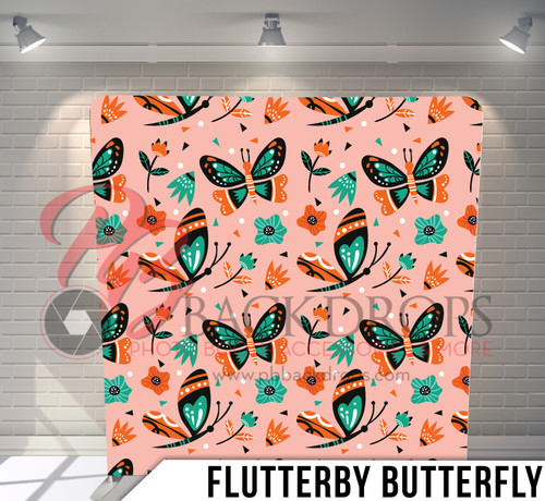 Single-sided Pillow Cover Backdrop  (Flutterby Butterfly)