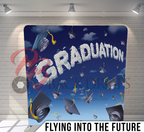 Single-sided Pillow Cover Backdrop  (Flying into the Future)